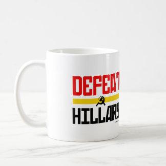 Defeat Hillary - Anti Hillary png.png Coffee Mugs