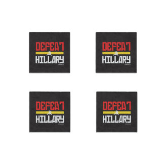 Defeat Hillary - Anti Hillary png white -.png Stone Magnet