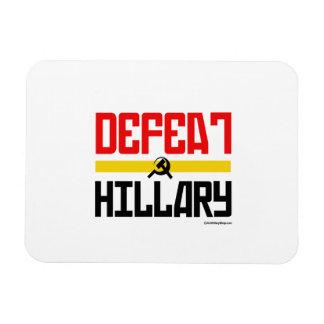 Defeat Hillary Rectangular Photo Magnet