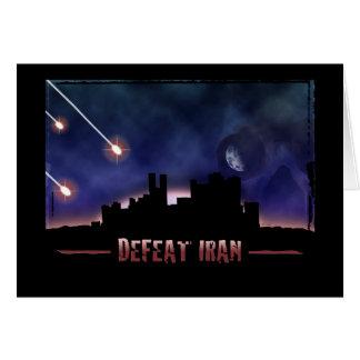 Defeat Iran Card
