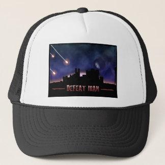 Defeat Iran Trucker Hat