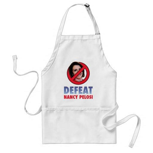 Defeat Nancy Pelosi Apron