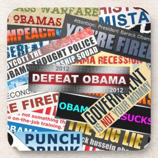 Defeat Obama 2012 Coaster