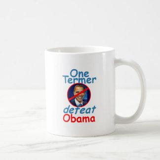 Defeat OBAMA Coffee Mug