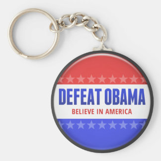 Defeat Obama Key Chains