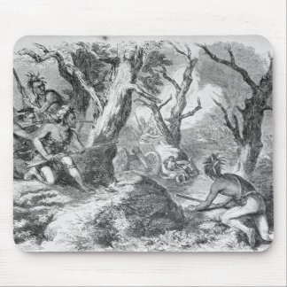 Defeat of General Braddock Mouse Pad