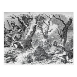 Defeat of General Braddock Postcard