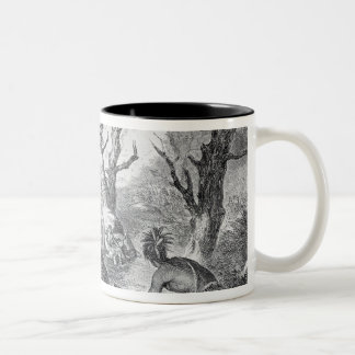 Defeat of General Braddock Two-Tone Coffee Mug