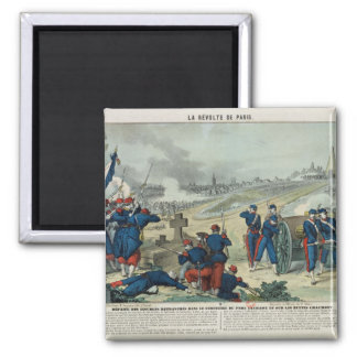 Defeat of the Rebels Entrenched in the Cemetery Magnet