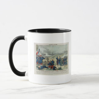 Defeat of the Rebels Entrenched in the Cemetery Mug