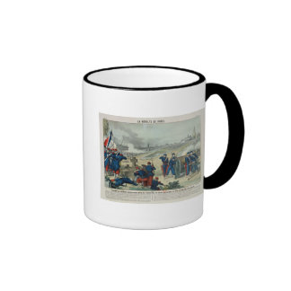 Defeat of the Rebels Entrenched in the Cemetery Coffee Mug