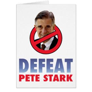 Defeat Pete Stark Card