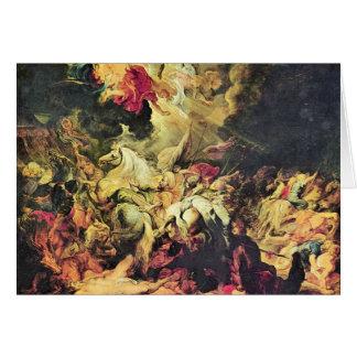 Defeat Sanheribs by Paul Rubens Card