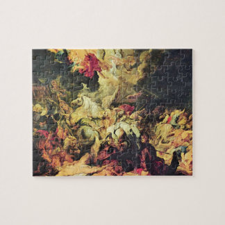 Defeat Sanheribs by Paul Rubens Jigsaw Puzzle