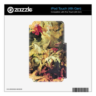 Defeat Sanheribs by Paul Rubens Skin For iPod Touch 4G