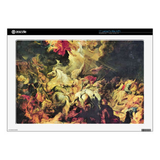 Defeat Sanheribs by Paul Rubens Skin For Laptop