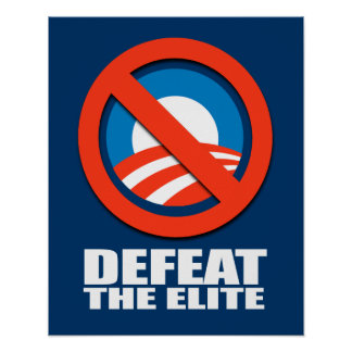 DEFEAT THE ELITE POSTER