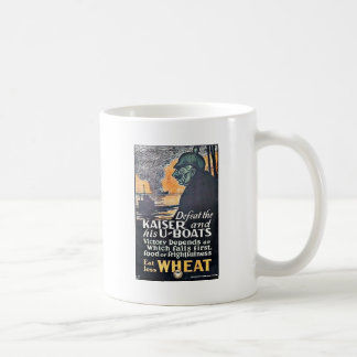 Defeat The Kaiser Classic White Coffee Mug