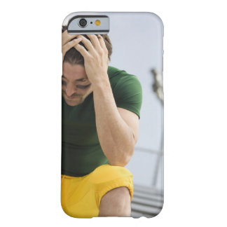 Defeated Football Player with Head in Hands Barely There iPhone 6 Case