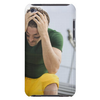 Defeated Football Player with Head in Hands Case-Mate iPod Touch Case