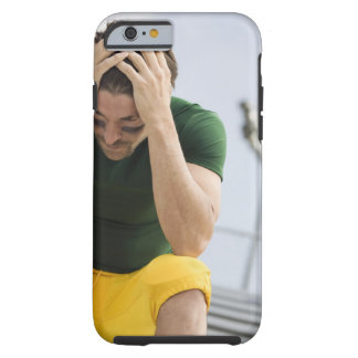 Defeated Football Player with Head in Hands Tough iPhone 6 Case