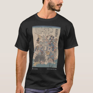 defeating measles - black t-shirt