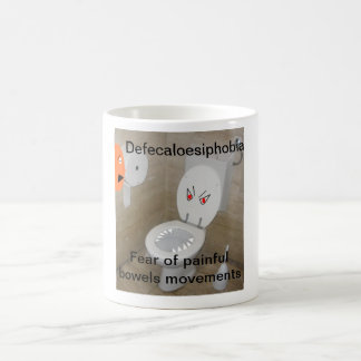 Defecaloesiphobia Coffee Mug