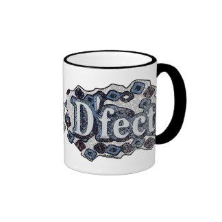 Defect Funny Sayings by Mudge Studios Ringer Coffee Mug