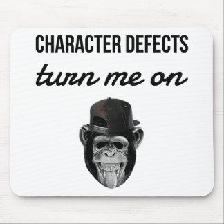 defect monkey mouse pad