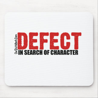 defect mouse pad