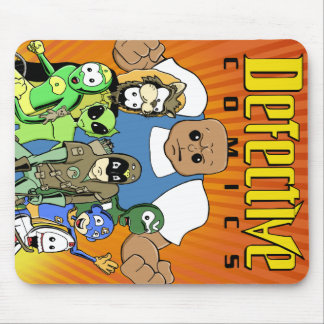 """Defective Comics """"King of the Hill"""" Design Mouse Pad"""