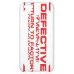 Defective iPhone 4 Case