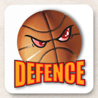 Defence Basketball Coaster