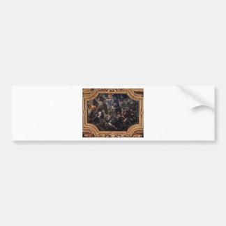 Defence of Brescia by Tintoretto Bumper Sticker