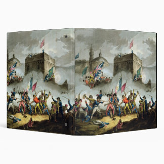 Defence of the breach at St. Jean d'Acre, May 8th 3 Ring Binder