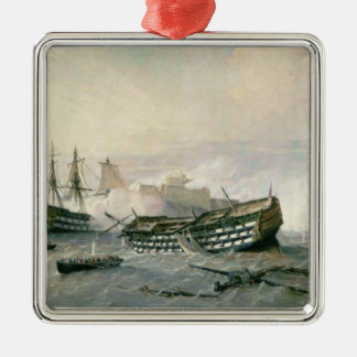 Defence of the Havana Promontory in 1762, c.1898 Metal Ornament