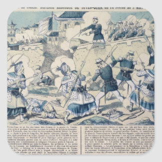 Defence of Tuyen Quang, 14th February 1885 Square Sticker