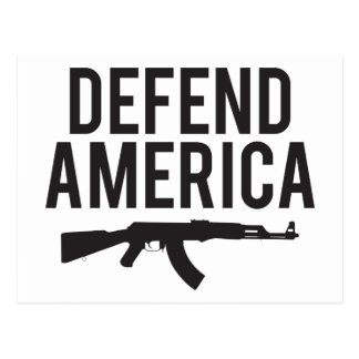 Defend America AK47 Post Cards