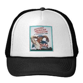 Defend American Freedom Trucker Hat
