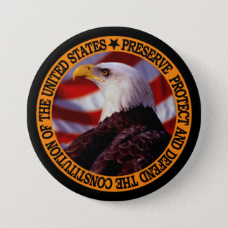"""Defend And Preserve Freedom."" Pinback Button"