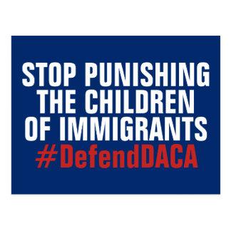 Defend DACA DREAMers Don't Punish Children Postcard
