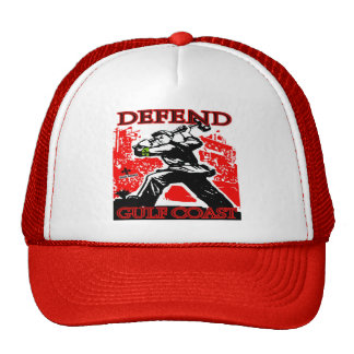 Defend Gulf Coast: Oil Spill Trucker Hat