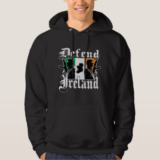 Defend Ireland - Irish Pride (vintage distressed) Hoodie
