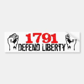 Defend Liberty! Bumper Sticker