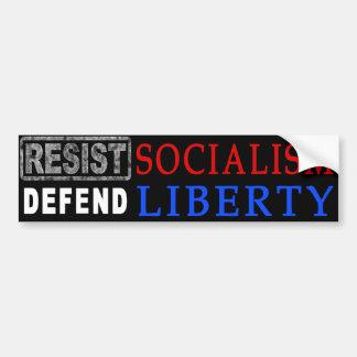 Defend Liberty bumper sticker