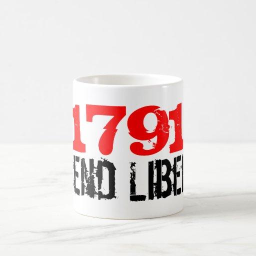 Defend Liberty Coffee Mugs
