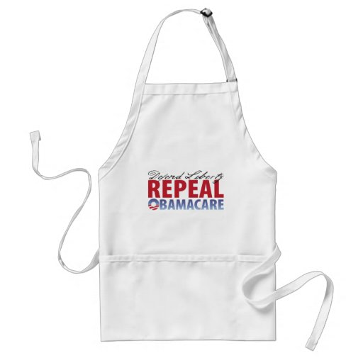 Defend Liberty Repeal Health Care Apron