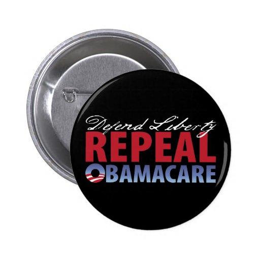 Defend Liberty Repeal Health Care Button