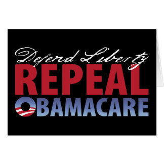 Defend Liberty Repeal Health Care Card