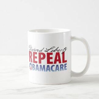 Defend Liberty Repeal Health Care Coffee Mug